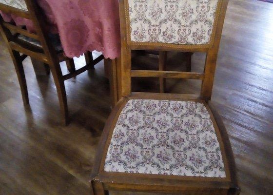 Přečalounění židlí