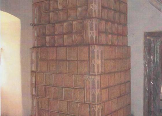 Výroba repliky středověkých kachlových kamen