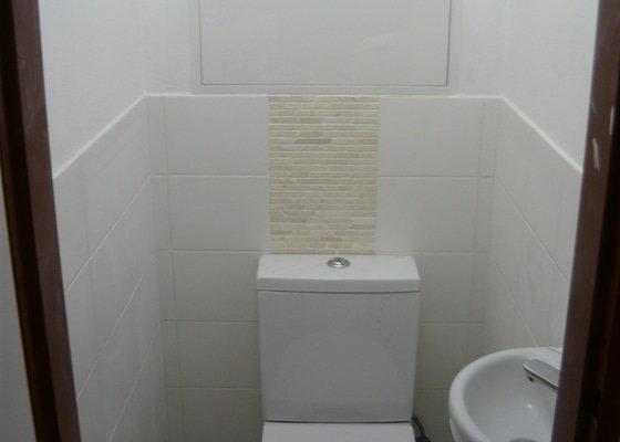 Rekonstrukce koupelny a wc,kuchyně