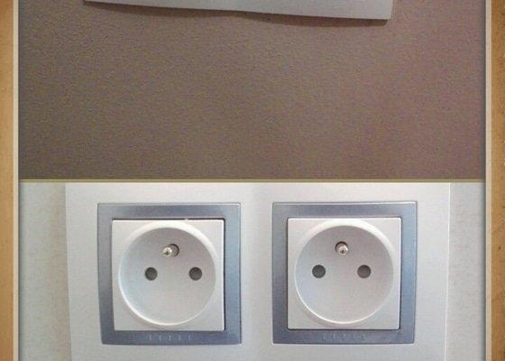 Předělání elektroinstalace v panelovém bytě 3+1