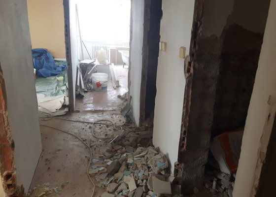 Rekonstrukce cihlového bytu