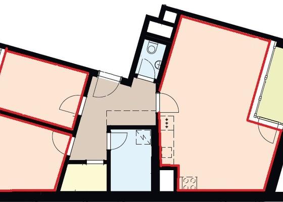 Pokládka laminátové podlahy v novostavbě na Praze 3 - 50m2