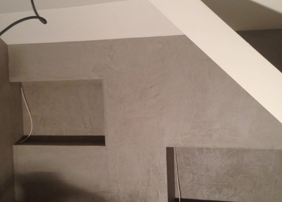 Betonová stěrka do koupelny a na toaletu