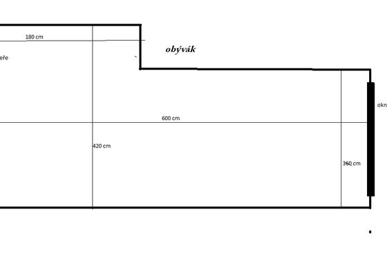 Podhledy do 2 místností