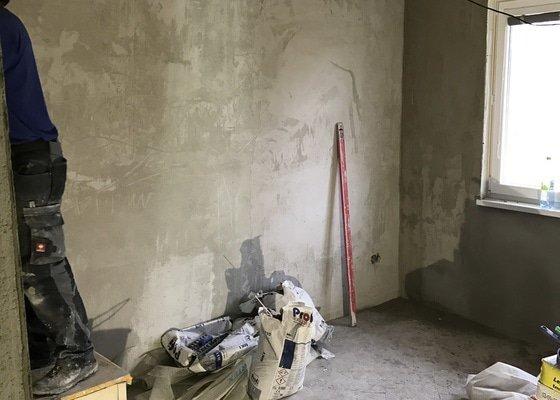 Provedení omítek a obklady bytového jádra