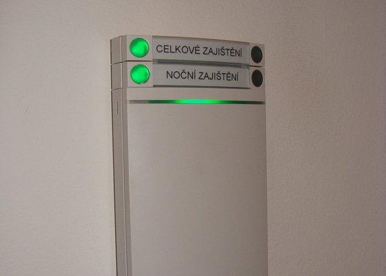 Montáž zabezpečovacího systému Jablotron