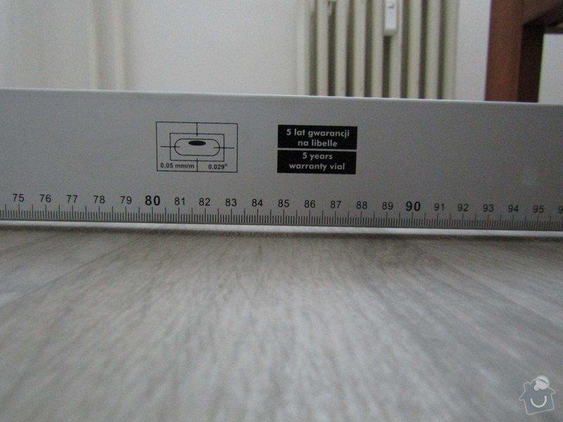 Vyrovnání podlahy, osazení zárubně: IMG_0312