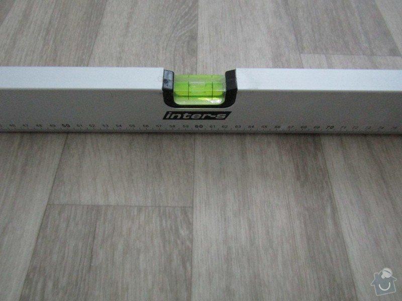 Vyrovnání podlahy, osazení zárubně: IMG_0310