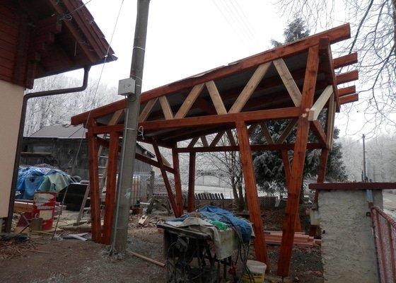 Konstrukce garážového stání