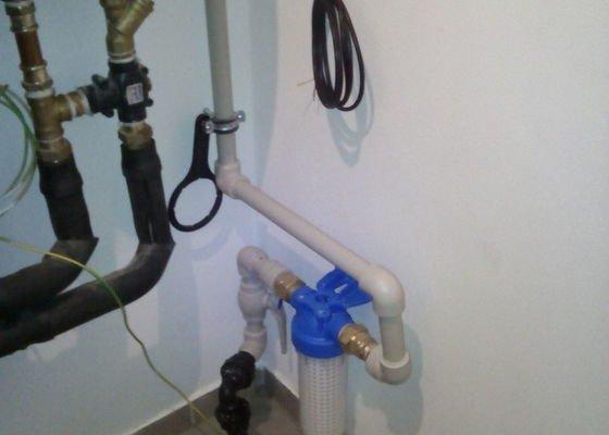 Zapojení filtrace vody