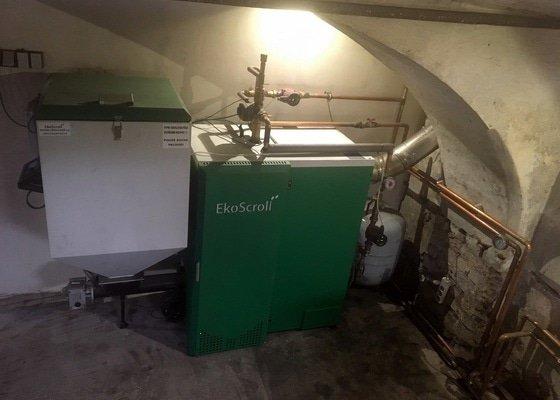 Montáž automatického kotle EkoScroll