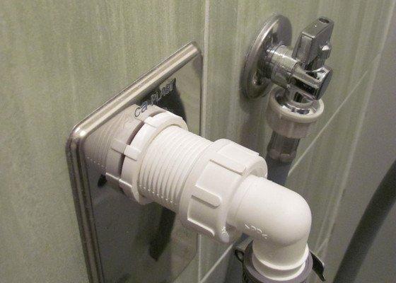 Oprava/výměna pračkového ventilu a sifonu