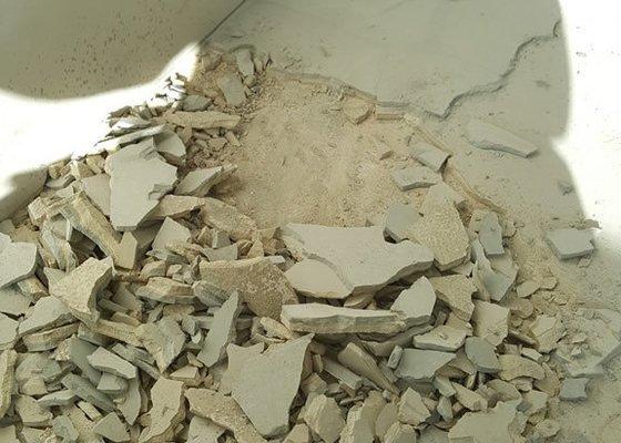 Oprava podlahy - vysekání strojem
