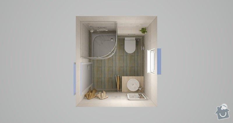 Obklad koupelny a sanita: Zelene_Domky_Safranek_koupelna_104_Kilimi_3