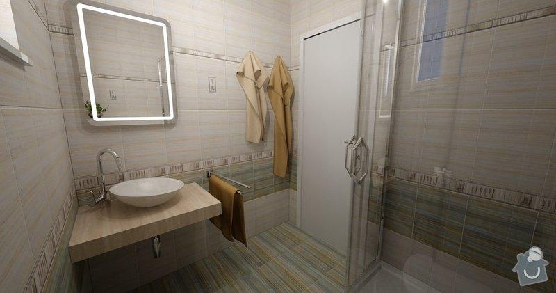 Obklad koupelny a sanita: Zelene_Domky_Safranek_koupelna_104_Kilimi_1