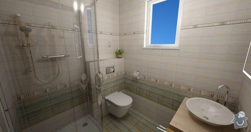 Obklad koupelny a sanita: Zelene_Domky_Safranek_koupelna_104_Kilimi_2