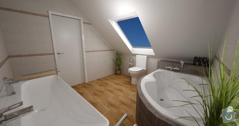 Obklad koupelny a sanita: Zelene_Domky_Safranek_koupelna_205_Nish_ver1_2