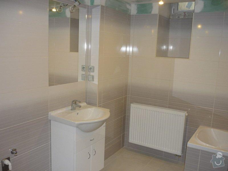 Rekonstrukce koupelny, wc, kuchyně : Podlomní_5_205