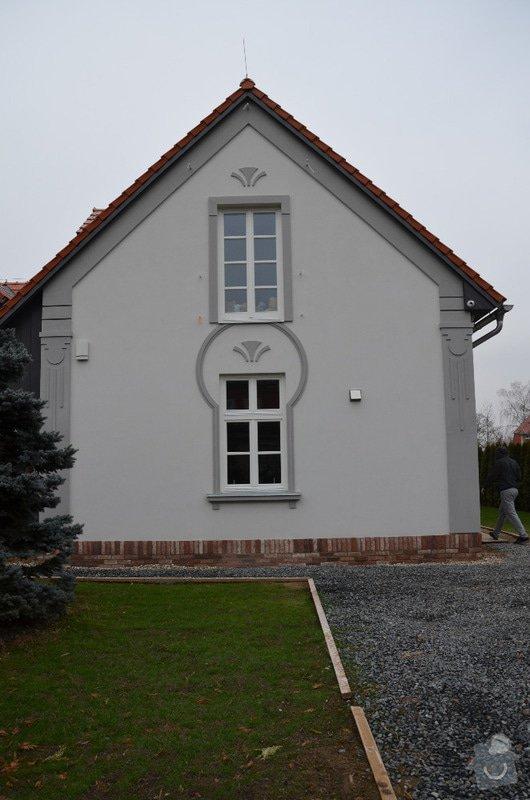 KZS Baumit Open+secesní prvky: Klánovice, Slavětínská