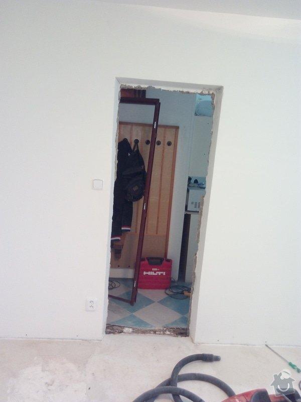 Vyrovnání podlahy, osazení zárubně: IMG_20170201_120949