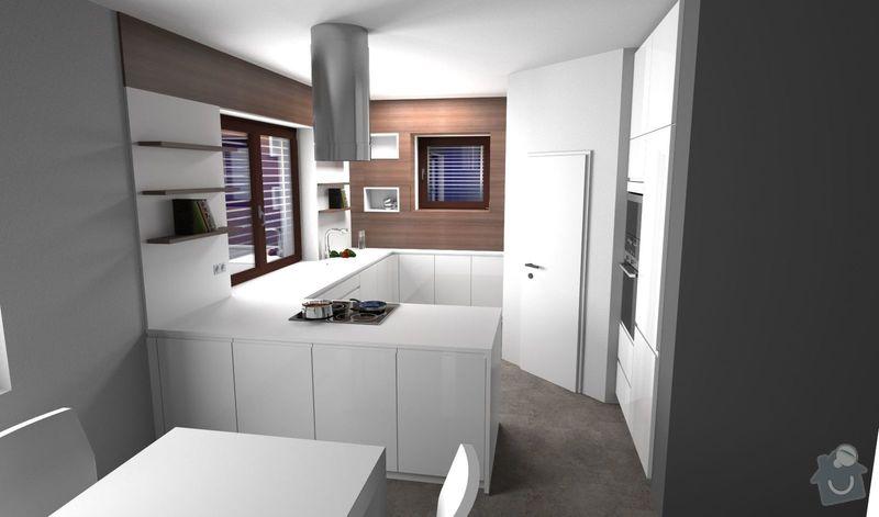 Kuchyně bez horních skříní s rohovým vařením, Zruč: 1400622-15_PSV001