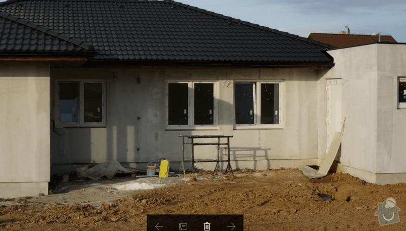 Zasklení terasy včetně zastínění: foto_napojeni_na_garaz