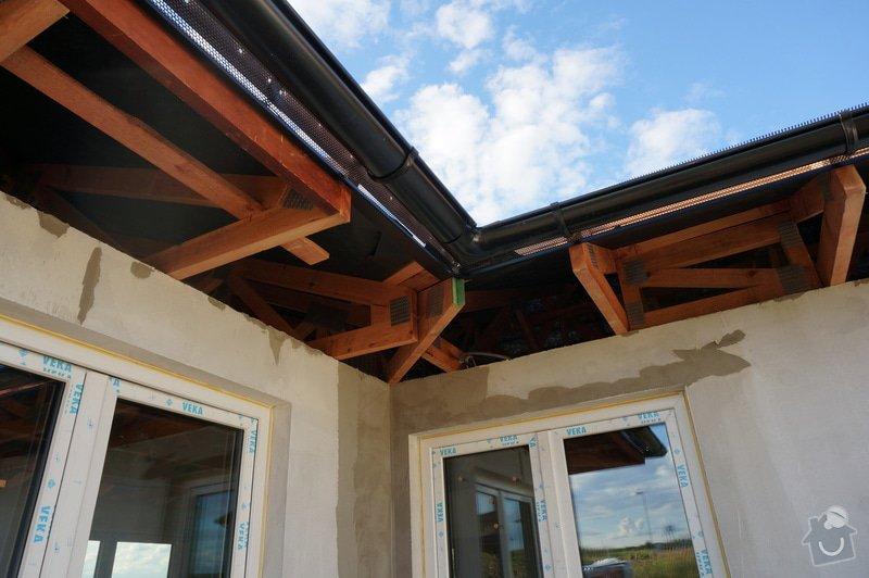 Zasklení terasy včetně zastínění: foto_kontrukce_strechy