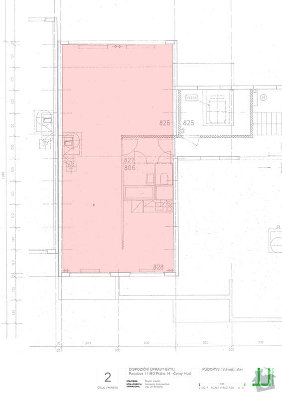 Rekonstrukce bytu 3+kk: stavajici_stav