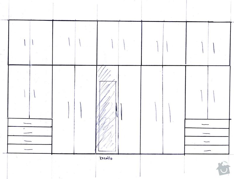 Vestavěná šatní skříň: skrin2