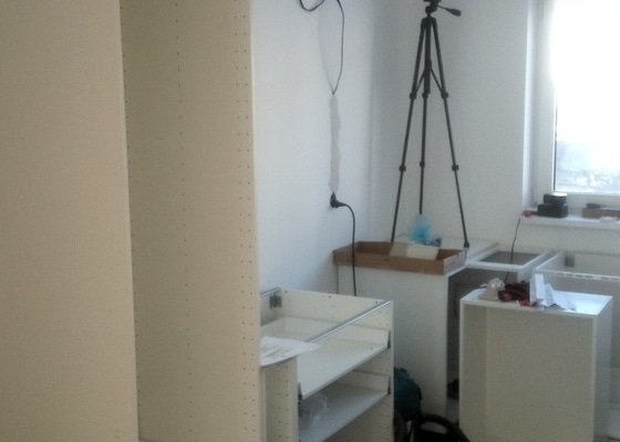 Montaz kuchyne Ikea