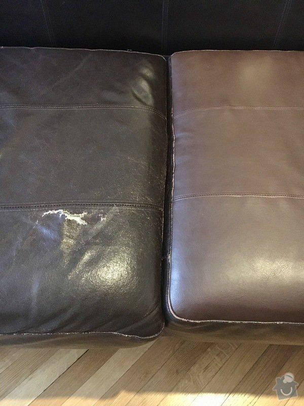 Oprava čalounění kožené sedačky: FullSizeRender3