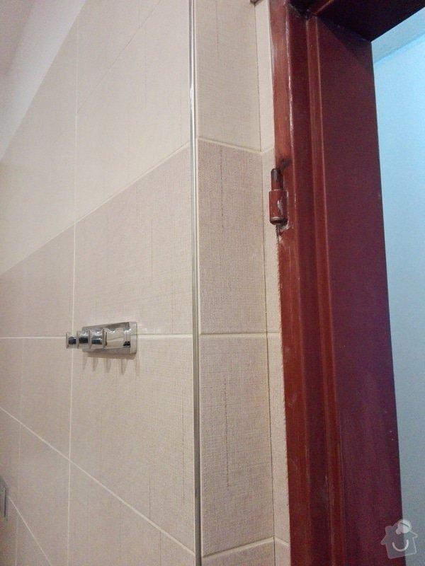 Zárubně (pomocí folie nebo tenké vrstvy obložky)  počet: 5 zárubní: koupelna