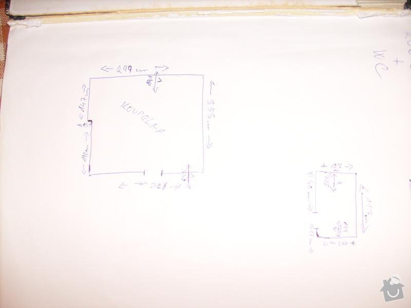 Rekonstrukce 3 koupelen: S7304493