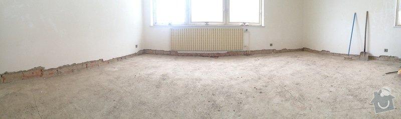 Zednické práce - zapravení omítky v interiéru: IMG_4121