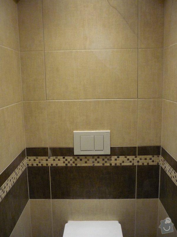 Rekonstrukce koupelny, wc: Neviditelná dvířka do šachty na WC