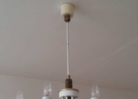 Instalace stropního osvětlení (2x)