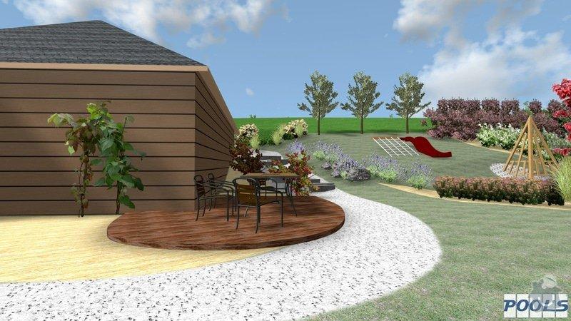 Lavičky na sezení, drobné zahradní stavby: 12
