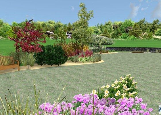 Pulečný - rekonstrukce zahrady