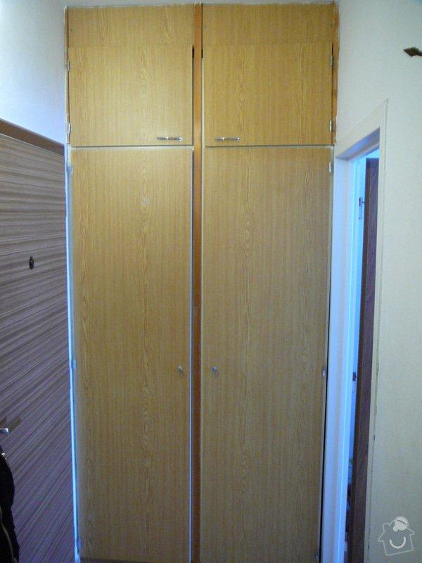 Vestavěná skříň do předsíně: P1050886