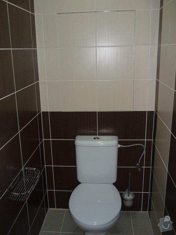 Rekonstrukce koupelny a WC: Neviditelná dvířka do šachty