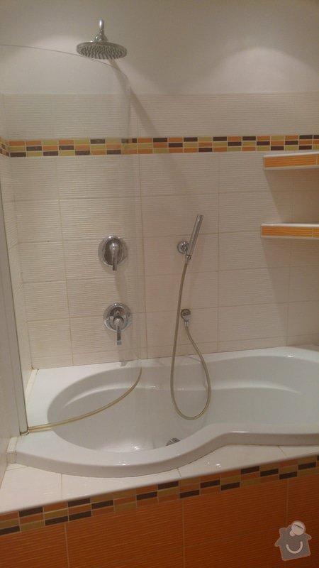 Rekonstrukce koupelny a WC: Podomítkový systém baterií