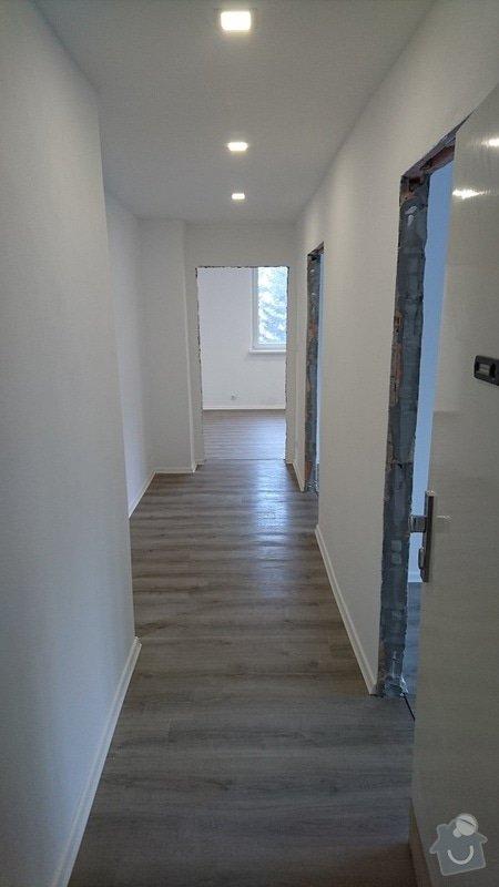 Kompletní rekonstrukce bytové jednotky 3+1: 258-10