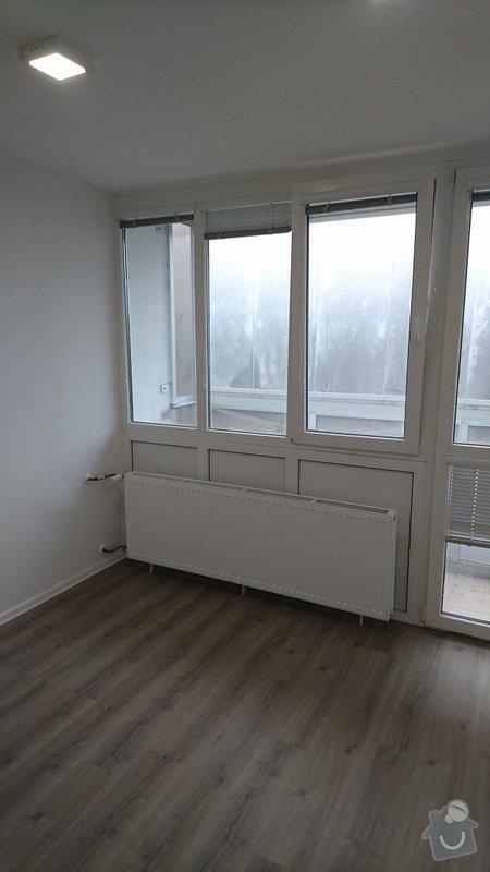 Kompletní rekonstrukce bytové jednotky 3+1: 258-13