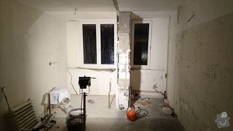 Kompletní rekonstrukce bytové jednotky 3+1: 258-14
