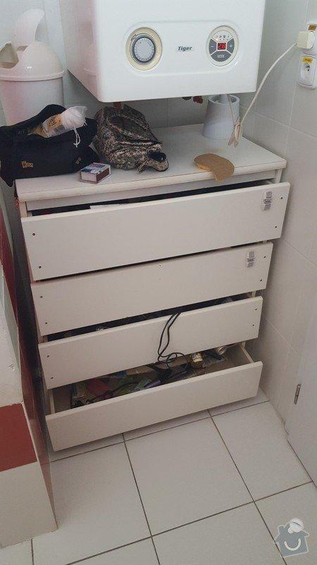 Výroba nábytku - dvě skřínky se šuplíky: 20170129_120455