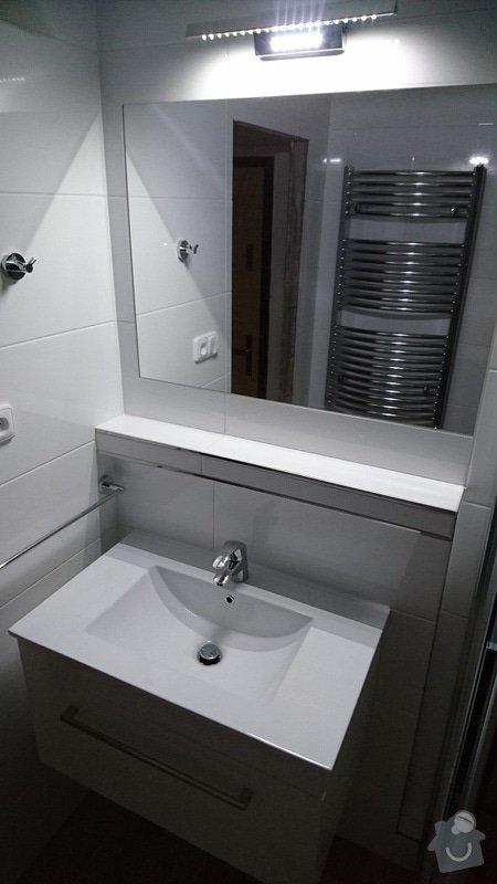 Kompletní rekonstrukce koupelny, toalety, výměna kotle.: 259-03