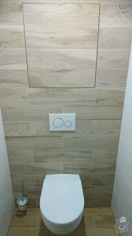 Kompletní rekonstrukce koupelny, toalety, výměna kotle.: 259-08