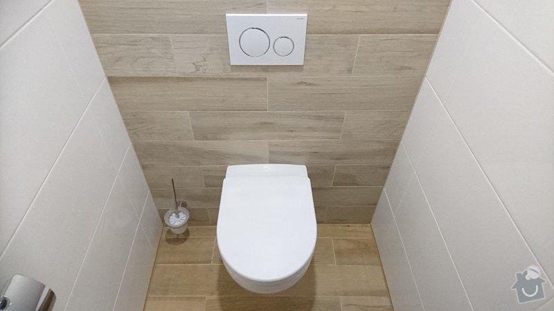 Kompletní rekonstrukce koupelny, toalety, výměna kotle.: 259-09