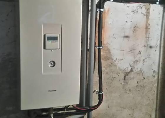 Instalace tepelného čerpadla