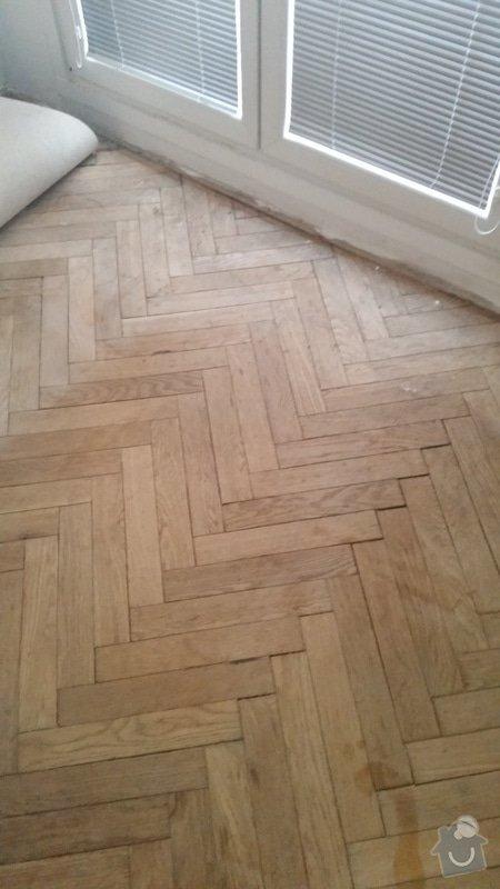 Renovace parket 34m2 + pokladka plovouci podlahy 21m2: 20170205_153117